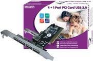 Audiokabel, Videokabel - Eminent EM1105 USB Adapter PCI USB, USB 2.0 5 Anschlüsse  - Onlineshop JACOB Elektronik