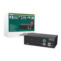 DIGITUS Combo-KVM Switch DC-11202-1 - KVM-Switc...