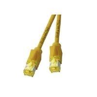 DRAKA RJ45 Netzwerk Anschlusskabel CAT 6a S/FTP 0.5m Gelb Flammwidrig, mit Rastnasenschutz jetztbilligerkaufen