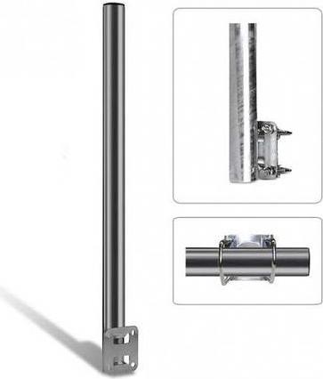 Smart SAT-Brüstungshalterung SM80S Silber (SM80S)