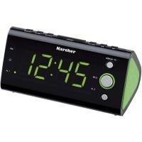 Kärcher UR 1040-G Uhr Digital Schwarz - Grün Radio (807254)