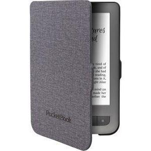 PocketBook - Flip-Hülle für eBook-Reader - Grau - für PocketBook Touch Lux 3 (JPB626(2)-GL-P)