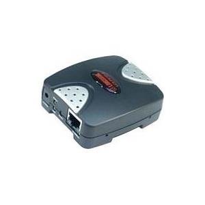 Longshine LCS-PS101-A - Druckserver - USB 2.0 - 10/100 Ethernet