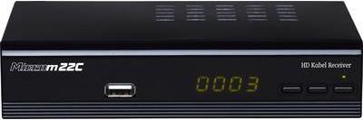 TV, SAT Receiver - Micro M22c HD IR DVB C Receiver, Scart, USB, Ethernet (193008)  - Onlineshop JACOB Elektronik