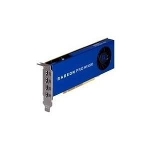 HP Inc AMD Radeon Pro WX 4100 - Grafikkarten - Radeon Pro WX 4100 - 4 GB GDDR5 - PCIe 3.0 x16 Low Profile - 4 x Mini DisplayPort - für Workstation Z240 (Z0B15AA)
