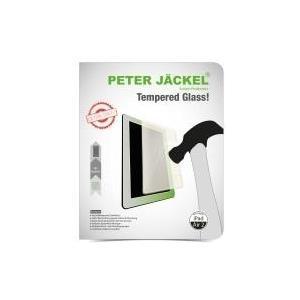 PETER JÄCKEL HD Glass Protector fuer Apple iPad Air 2 - Folie aus Temperglas nur 0,26 mm dünn hohe Härte und Schlagfestigkeit (14722) - broschei