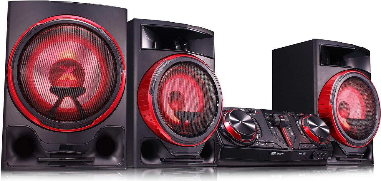 LG CJ88 Home audio midi system 2900W Schwarz - ...