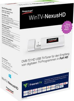 TV-Tuner WinTV-NexusHD freenet TV DVB-T2 HD USB...