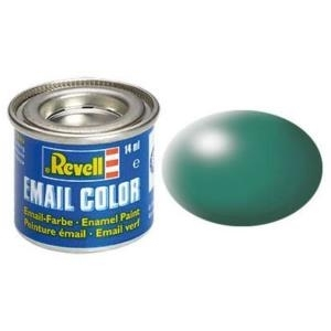 Revell Patinagrün - seidenmatt RAL 6000 14 ml-Dose Farbe Grün Kunstharz Emaillelackierung Zinn (32365)