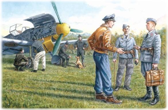 Icm deutschen Luftwaffe Bodenpersonal
