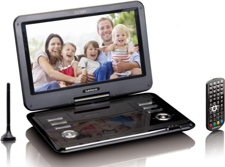 DVD Player, Blu Ray - Lenco DVP 1273 DVD Player tragbar Anzeige 29cm (11.6) (DVP1273)  - Onlineshop JACOB Elektronik