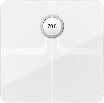 Fitbit Aria 2 Elektronische Personenwaage Quadratisch Weiß (ARIA 2 WH)
