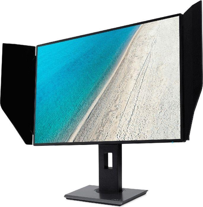 Acer ProDesigner PE270K - LED-Monitor - 68.6 cm (27) - 3840 x 2160 4K UHD (2160p) - IPS - 400 cd/m² - 1300:1 - 5 ms - 2xHDMI, DisplayPort - Lautsprecher - Schwarz