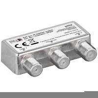 Wentronic goobay DiSEqC 2,0 Switch 2x1 - Satellite signal switch - Silber (63449)