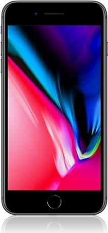 Apple iPhone 8 Plus, 64GB, spacegrau (MQ8L2ZD/A) (Bild #1)
