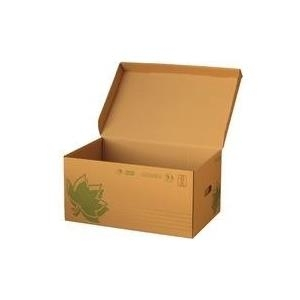 FAST NATURE LINE Archiv-Klappdeckelbox, braune ...