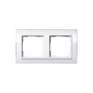GIRA 2fach Rahmen Event Klar, Standard 55, System 55 Weiß (glänzend) 0212 723 jetztbilligerkaufen