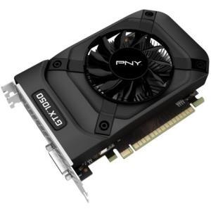 PNY GeForce GTX 1050 - Grafikkarten - NVIDIA GeForce GTX 1050 - 2GB GDDR5 - PCIe 3.0 x16 - DVI, HDMI, DisplayPort (GF1050GTX2GEPB)