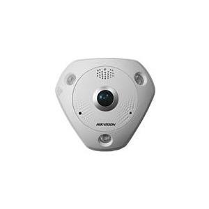 Hikvision 3MP WDR Fisheye Network Camera DS-2CD6332FWD-IV - Netzwerk-Überwachungskamera - Außenbereich - vandalismusgeschützt - Farbe (Tag&Nacht) - 3 MP - 2048 x 1536 - M12-Anschluss - Automatische Irisblende - feste Brennweite - Audio - GbE -