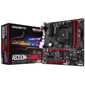 GigaByte GA-AB350M-Gaming 3 Mainboard - Sockel AM4 - Micro-ATX - VGA, HDMI, DVI, DDR4 (GA-AB350M-GAMING 3)