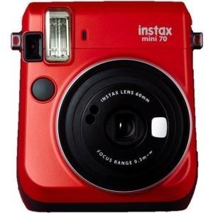 Sofortbildkameras - Fujifilm Instax Mini 70 Instant Kamera Objektiv 60 mm Rot (16513889)  - Onlineshop JACOB Elektronik