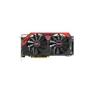MSI R9 280X GAMING 3G - Grafikkarten - Radeon R9 280X - 3GB GDDR5 - PCI Express 3.0 x16 - DVI, HDMI, 2 x Mini DisplayPort (V277-053R)