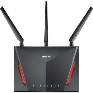 ASUS RT-AC86U - Wireless Router - 4-Port-Switch - GigE - 802,11a/b/g/n/ac - Dual-Band (90IG0401-BM3000)