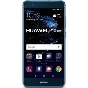 Smartphones, Handys - Huawei P10 Lite Smartphone Dual SIM 4G LTE 32 GB microSDXC slot GSM 5.2' 1920 x 1080 Pixel IPS RAM 4 GB 12 MP (8 MP Vorderkamera) Android Saphirblau  - Onlineshop JACOB Elektronik