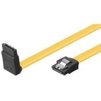 Wentronic goobay - SATA-Kabel - SATA (S) gewinkelt bis SATA (S) gerade - 70cm - flach (95297)