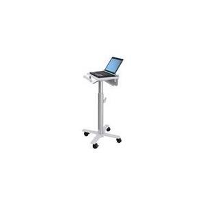 Ergotron StyleView Laptop Cart, SV10 - Wagen für Notebook medizinisch Metall weiß, Aluminium Bildschirmgröße: bis zu 43,2 cm (bis 43,20cm (17)) (SV10-1100-0) jetztbilligerkaufen