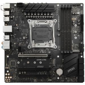 MSI X299M-A PRO - Motherboard - micro ATX - LGA2066 Socket - X299 - USB 3.1 Gen 1, USB-C Gen2, USB 3.1 Gen 2 - Gigabit LAN - HD Audio (8-Kanal)