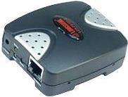 Longshine LCS-PS101-B - Druckserver - USB 2.0 - 10/100 Ethernet