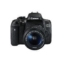 Spiegelreflexkameras - Canon EOS 750D Digitalkamera SLR 24,2 MPix 1080p 3 x optischer Zoom EF S 18 55mm IS STM Objektiv Wi Fi, NFC (0592C022)  - Onlineshop JACOB Elektronik