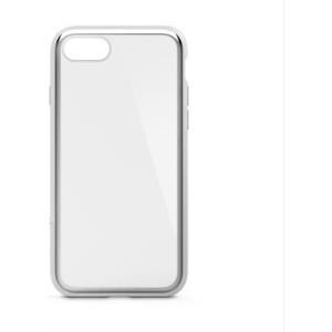 Belkin SheerForce Elite - Hintere Abdeckung für Mobiltelefon - Polycarbonat - Silber - für Apple iPhone 7, 8 (F8W849BTC01)