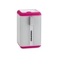 Grundig GSB 110 - Lautsprecher - tragbar - drahtlos - 3 Watt - weiß, pink