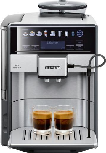 Kaffee, Tee - Siemens TE617503DE Freistehend Vollautomatisch Espressomaschine 1.7l Edelstahl Kaffeemaschine (TE617503DE)  - Onlineshop JACOB Elektronik