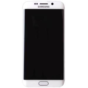 Samsung GH97-17162B Komplett-Displayeinheit für Galaxy S6 Edge SM-G925 weiss (GH97-17162B)