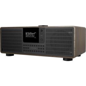 SuperSystem Persönlich Digital Schwarz - Walnuss Radio (607)