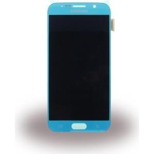 Samsung GH97-17260D Komplett-Displayeinheit für Galaxy S6 SM-G920 blau (GH97-17260D)