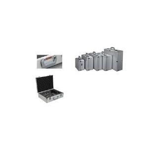 ALUMAXX Multifunktions-Koffer STRATOS I, silber aus Aluminium, zur Aufbewahrung und zum Transport techni- (45135)