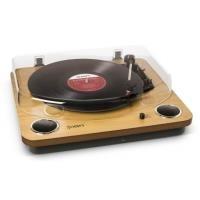 Plattenspieler, Turntables - ION Max LP Plattenspieler Natural Wood (MAX LP)  - Onlineshop JACOB Elektronik