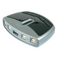 ATEN 4 Port USB 2.0-Umschalter ASS-US421 Silber...