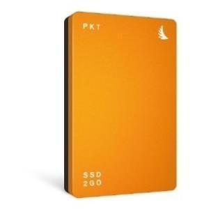 Angelbird SSD2GO PKT, 512 GB ext. SSD, USB-C/USB 3.1, orange - broschei