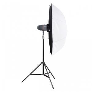 Blitzgeräte - mantona Walimex Pro Newcomer Set Starter 150 DS Studioblitz 1 Köpfe x 1 Lampe 150 Ws AC (21319)  - Onlineshop JACOB Elektronik