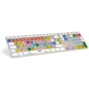Logickeyboard LKB-LOGXP2-AM89-DE USB QWERTY Deutsch Multi Tastatur (LKB-LOGXP2-AM89-DE)