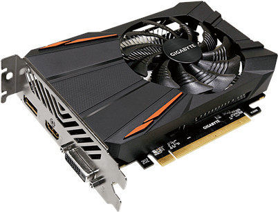 Gigabyte Radeon RX 560 OC 4G (rev. 2.0) - OC Edition - Grafikkarten - Radeon RX 560 - 4 GB GDDR5 - PCIe 3.0 x16 - DVI, HDMI, DisplayPort