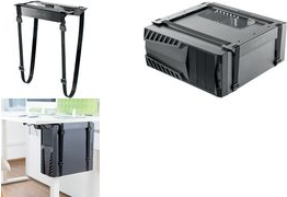 Logilink Untertisch PC Halterung justierbar mit Gurt EO0009