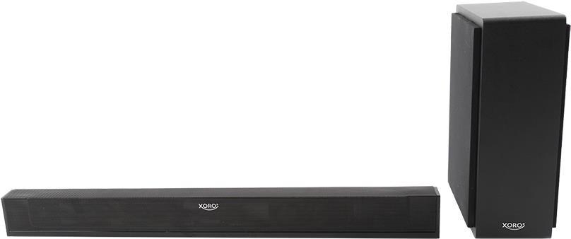 Heimkino Systeme - Xoro HSB 75 Verkabelt Kabellos 2.1Kanäle 48W Schwarz Soundbar Lautsprecher (XOR700726)  - Onlineshop JACOB Elektronik