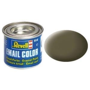 Revell Nato-oliv - matt RAL 7013 14 ml-Dose Farbe Olive Kunstharz Emaillelackierung Zinn (32146)