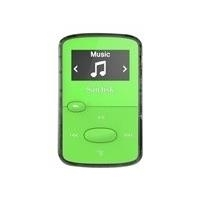 CD, MP3 Player - SanDisk Clip Jam Digitalplayer Flash 8GB Anzeige 2,5 cm (0,96) grün (SDMX26 008G G46G)  - Onlineshop JACOB Elektronik